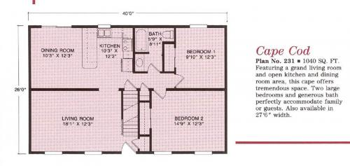 Cape - Modular Homes Affordably Priced